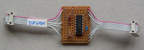 ISP isolator board